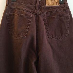 Ann Taylor Women's Brown Denim Jean's Size 10 L